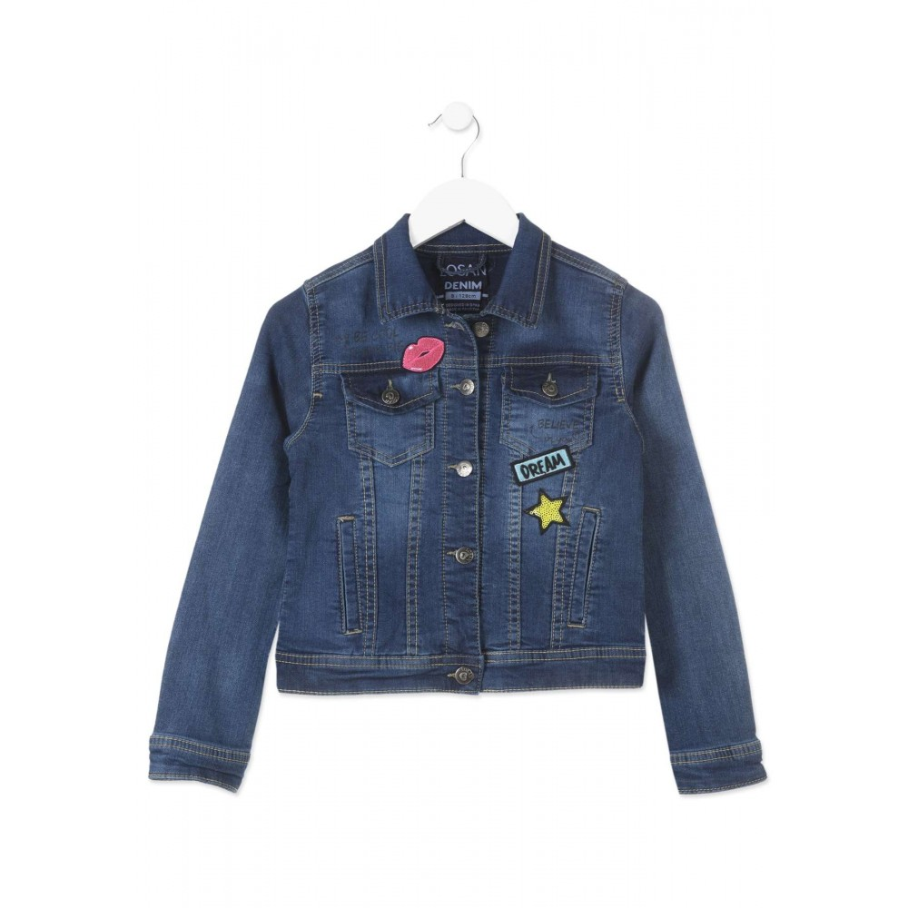 Cazadora Denim Losan niña junior Dream