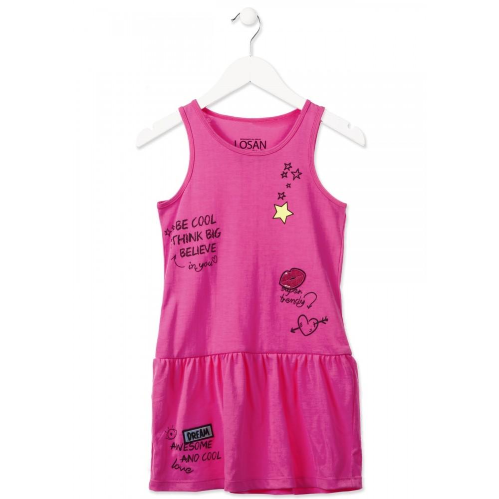 nueva colección estilo máximo mejor servicio Vestido Losan niña junior Believe tirantes