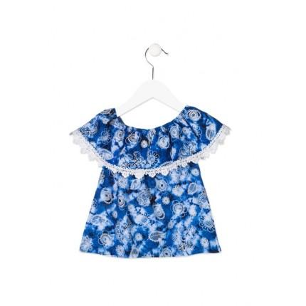 Camisa Losan Kids niña infantil hombros descubiertos