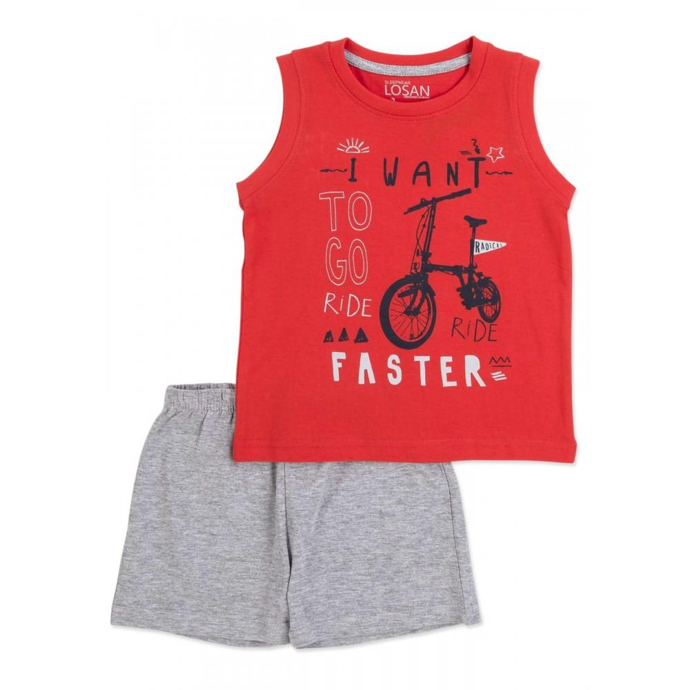 Pijama Losan Kids niño infantil Ride Radical tirantes