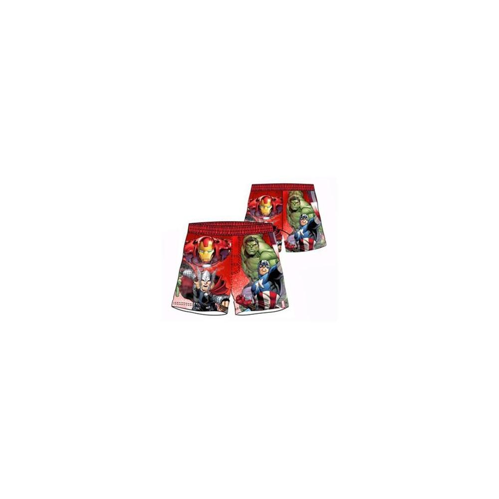 Bañador bermuda Avengers niño Vengadores goma