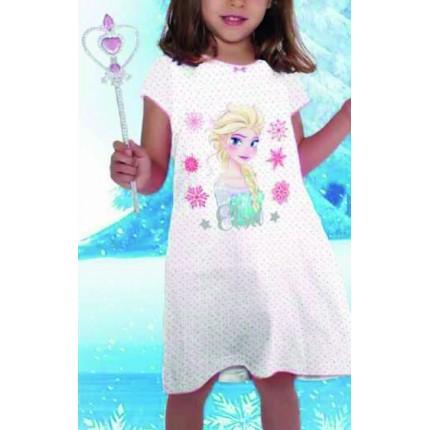 Camison Frozen niña Elsa manga corta