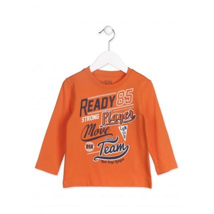 Camiseta Losan Kids niño infantil Ready 85 manga larga
