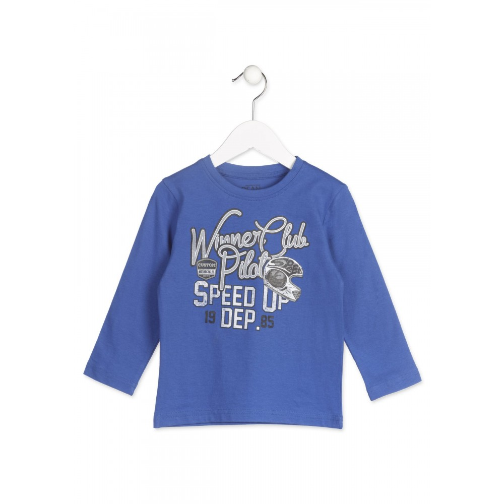 Camiseta Losan Kids niño infantil Speed 12 manga larga