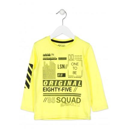 Camiseta Losan Kids niño infantil One to be manga larga