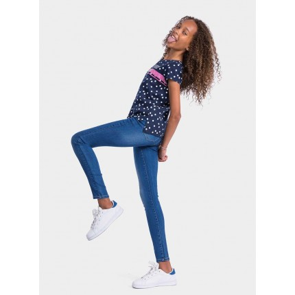 Pantalón Jeans Tiffosi Kids Jegging_k14 niña junior goma