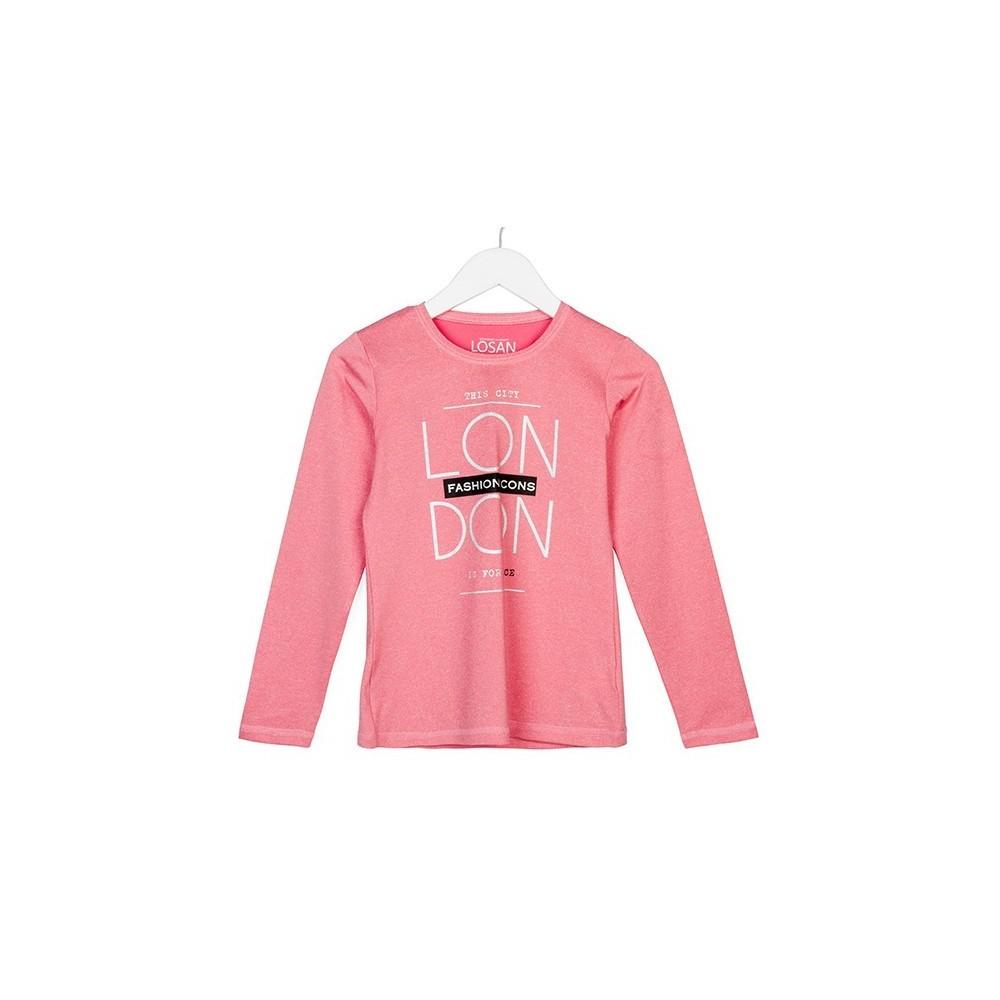 Camiseta Losan Dance niña junior manga larga