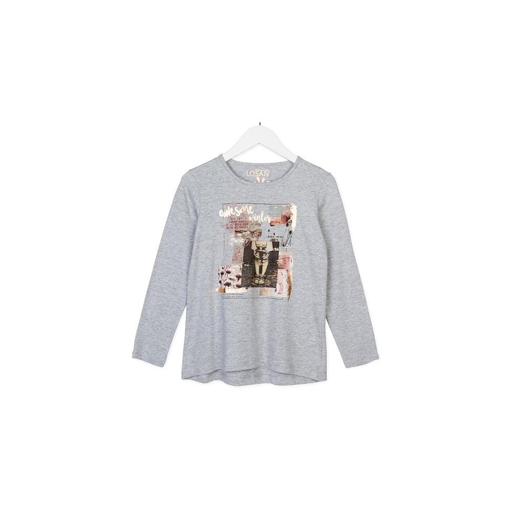 Camiseta Losan niña junior We somo winter manga larga