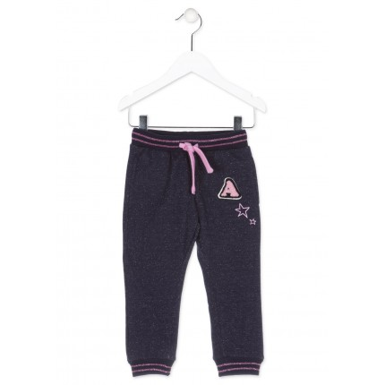 Pantalón Jogging Losan Kids niña infantil Just Wanna Have Fane cordón
