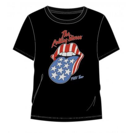 Camiseta The Rolling Stones USA adulto manga corta
