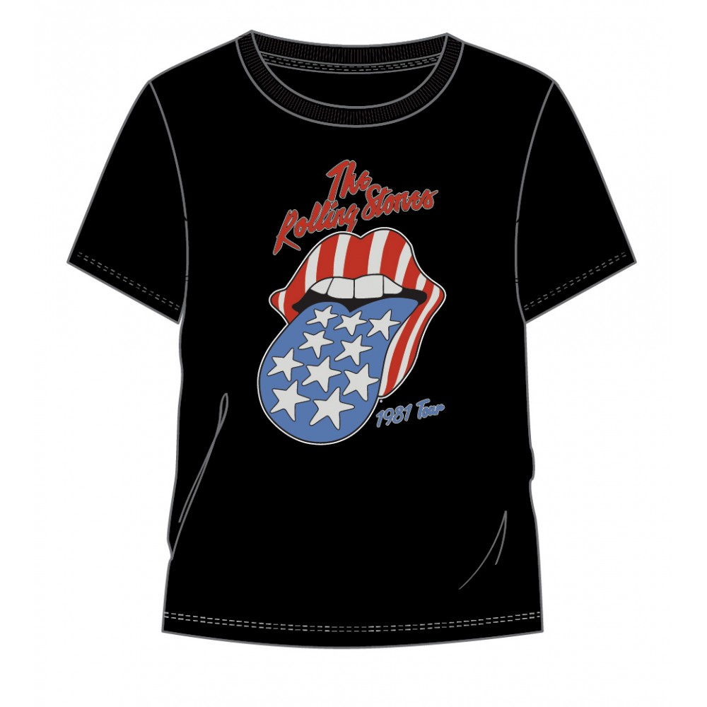 Camiseta The Rolling Stones USA adulto manga corta