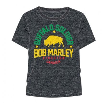Camiseta Bob Marley Buffalo Soldier adulto manga corta