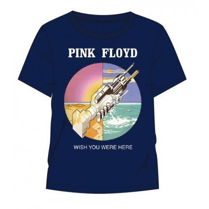 Camiseta Pink Floyd Wish you were here adulto manga corta