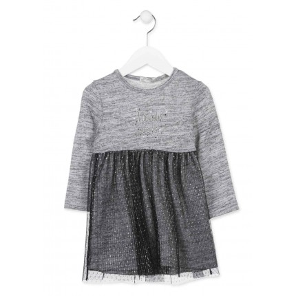Vestido Losan Kids niña infantil Lovely days manga larga