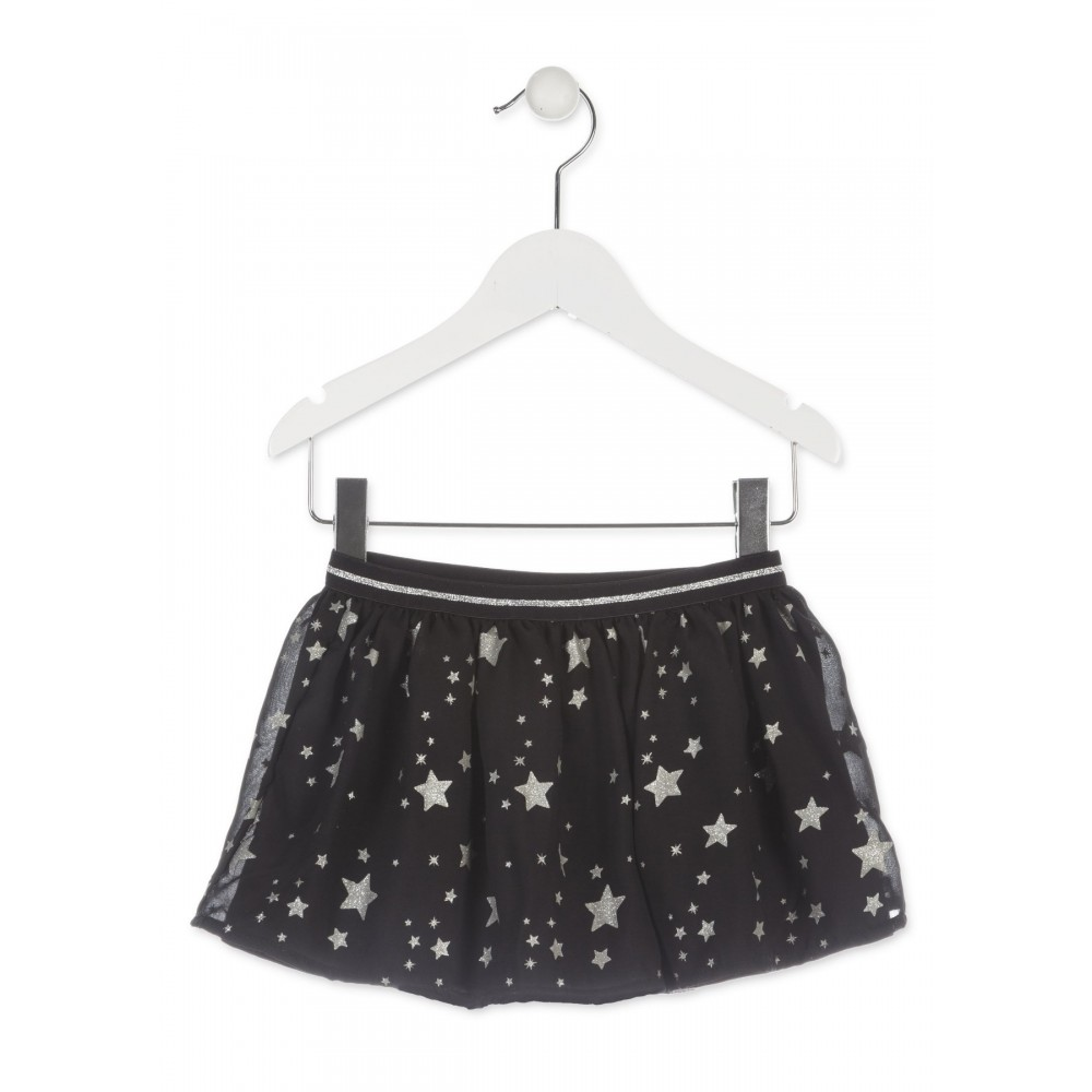 Falda Losan Kids niña infantil Follow your Star tull goma