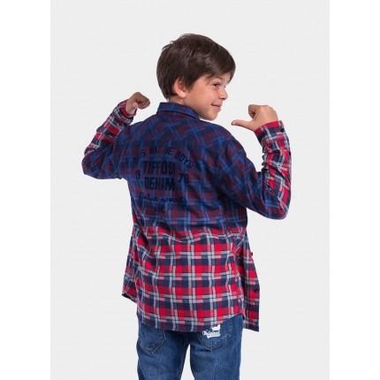 Camisa Tiffosi Kids niño junior Kafu manga larga