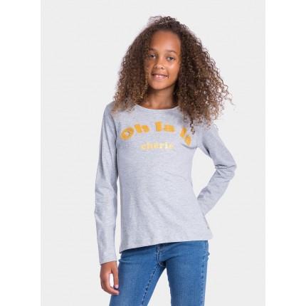 Camiseta Tiffosi Kids niña junior Sherrie manga larga