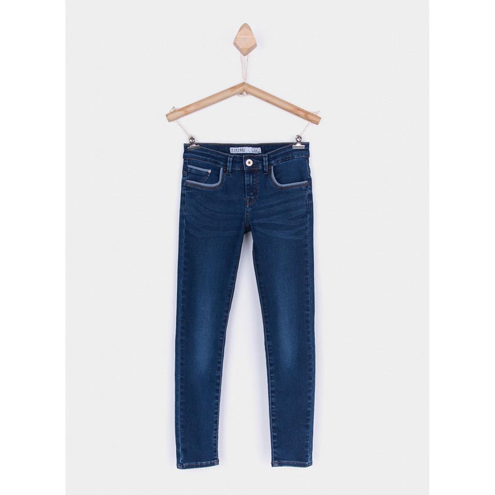Pantalón Jeans Tiffosi Kids niña junior Blake_k220 cinco bolsillos