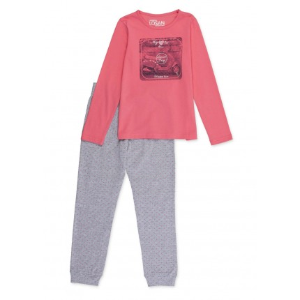 Pijama Losan niña junior Secret friv manga larga
