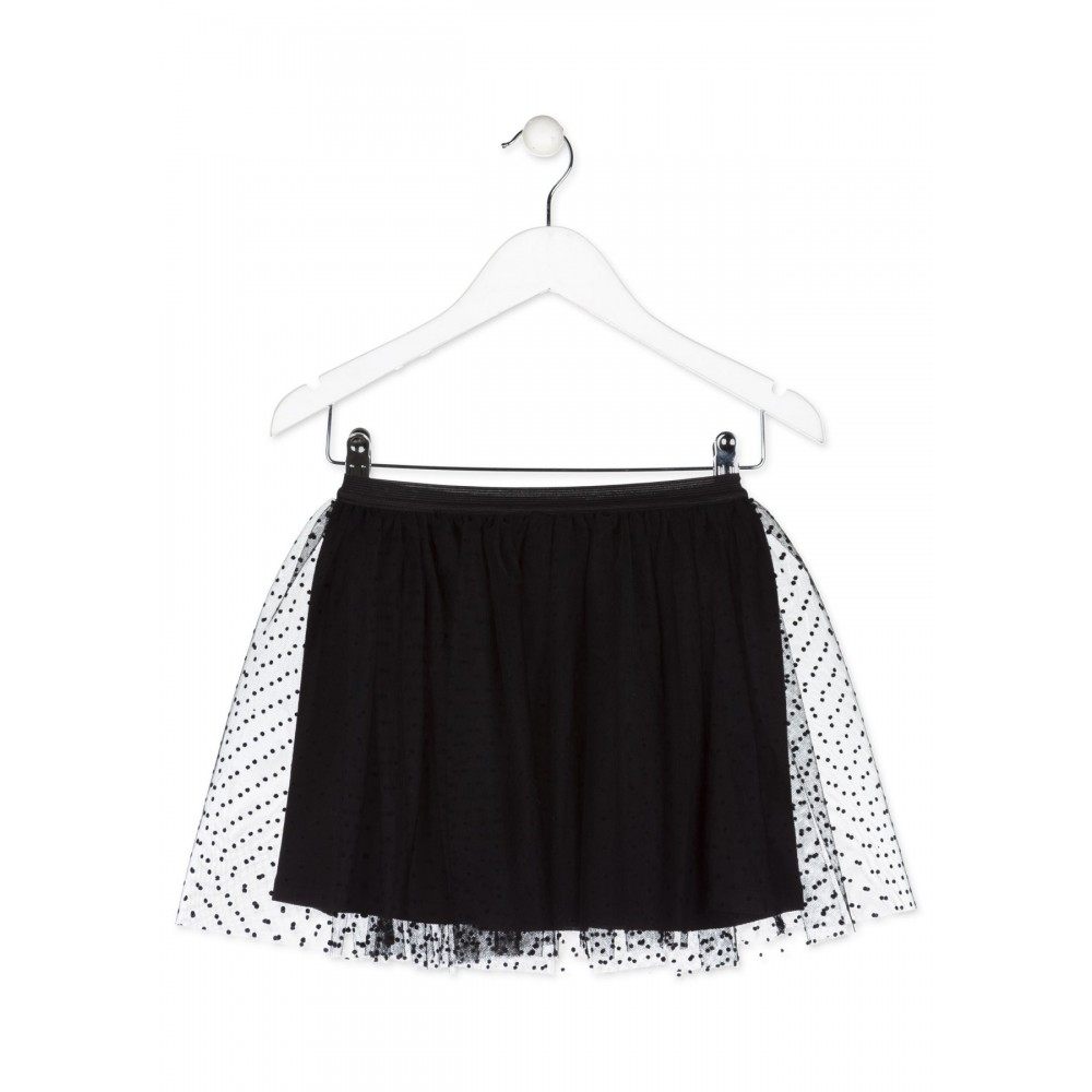 Falda Losan niña junior Cool girls wear hearts tull