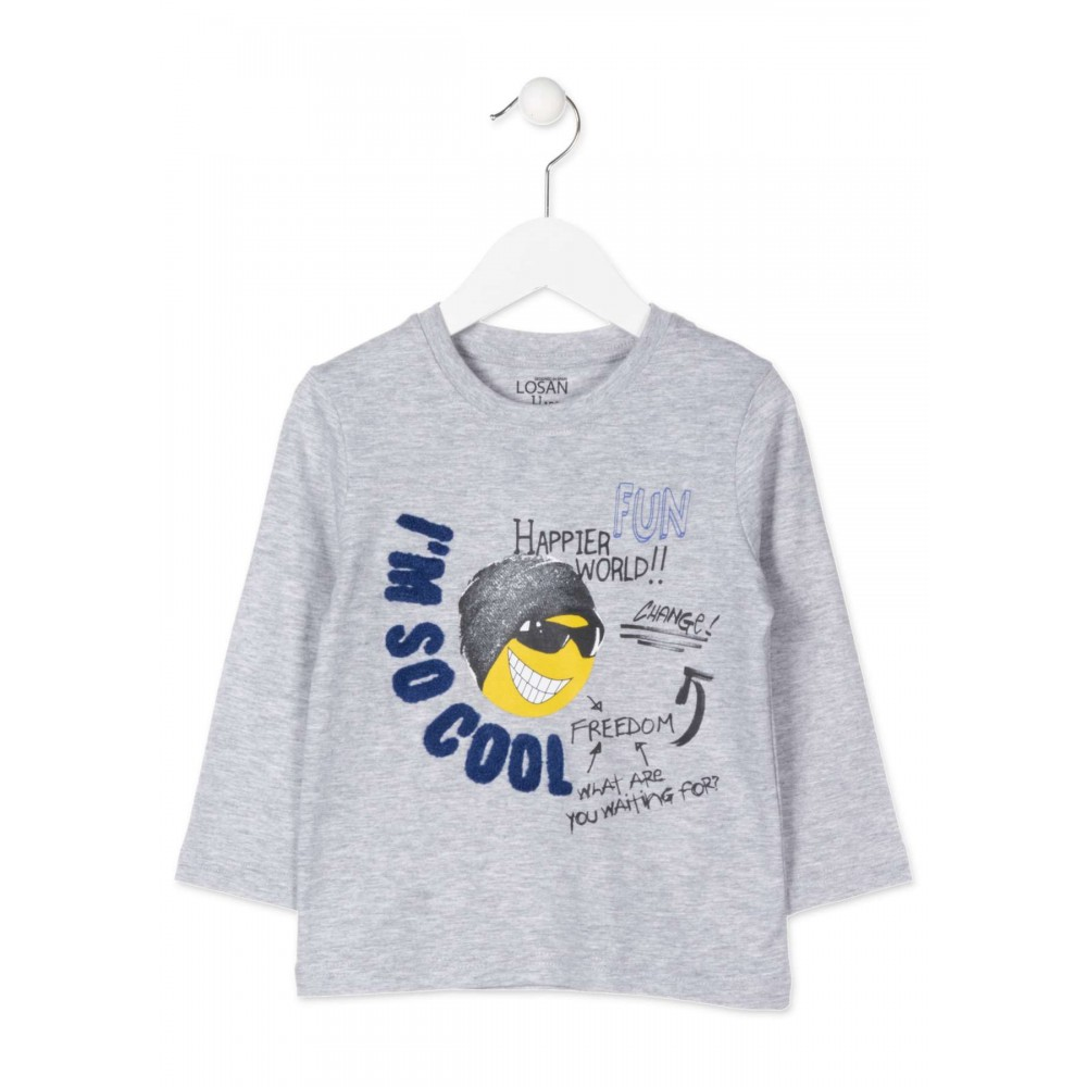Camiseta Losan Kids niño infantil I'm so cool manga larga