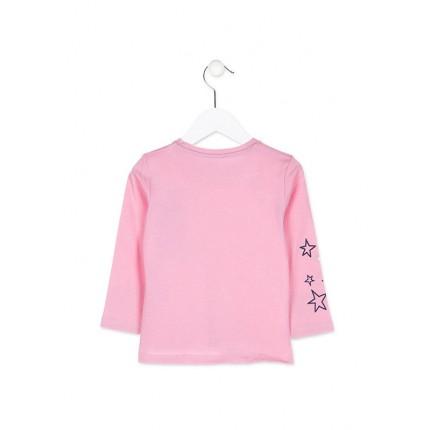 Camiseta Losan Kids niña infantil Oh Yeah manga larga