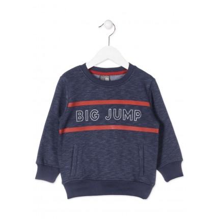 Sudadera Losan Kids niño infantil Big Jump canguro