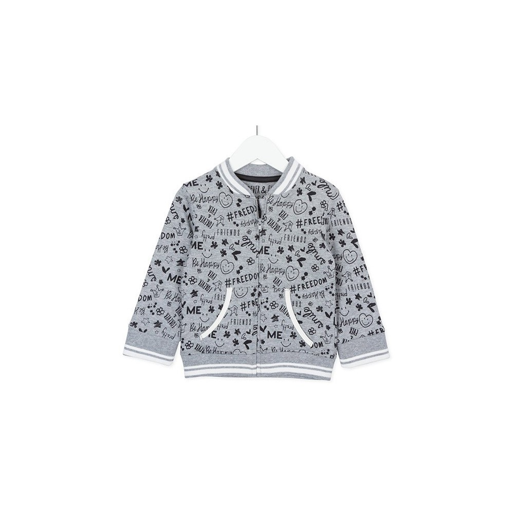 Sudadera infantil Losan kids Girls power niña Freedom