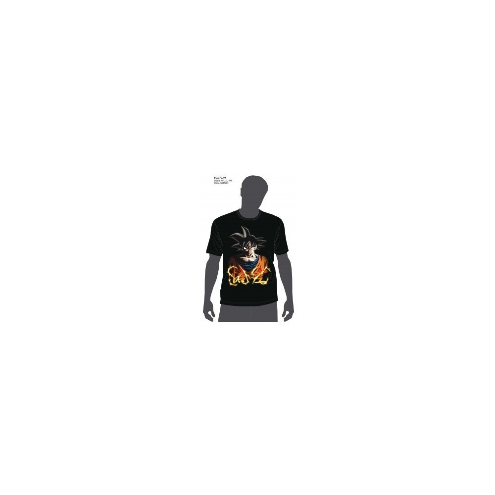 Camiseta niño Dragon Ball Z GOKU manga corta