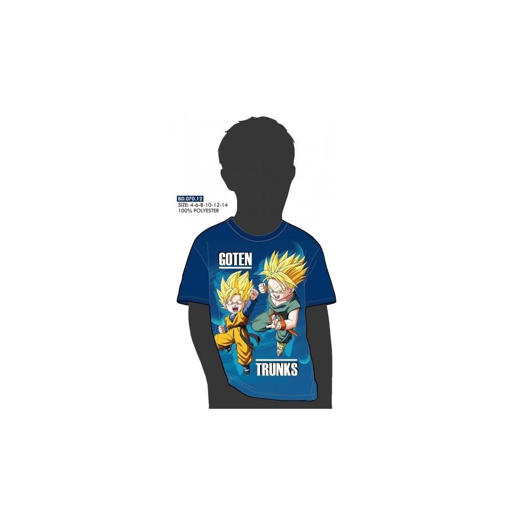 Camiseta Dragon Ball Z niño Goten y Trunks manga corta