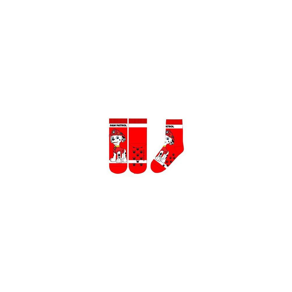 Calcetines Antideslizantes Patrulla Canina niño Rojo