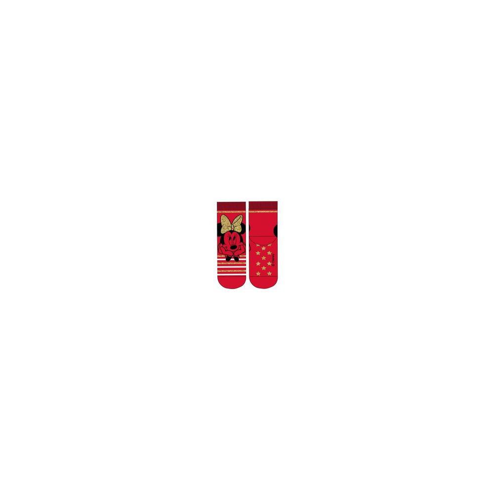 Rojo Calcetines antideslizantes MINNIE MOUSE niña