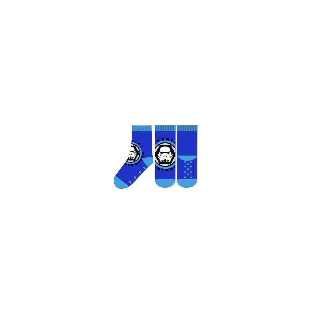 Azul Calcetines Antideslizantes STAR WARS niño infantil