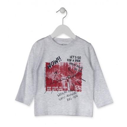 Camiseta Losan Kids niño Wow! infantil manga larga
