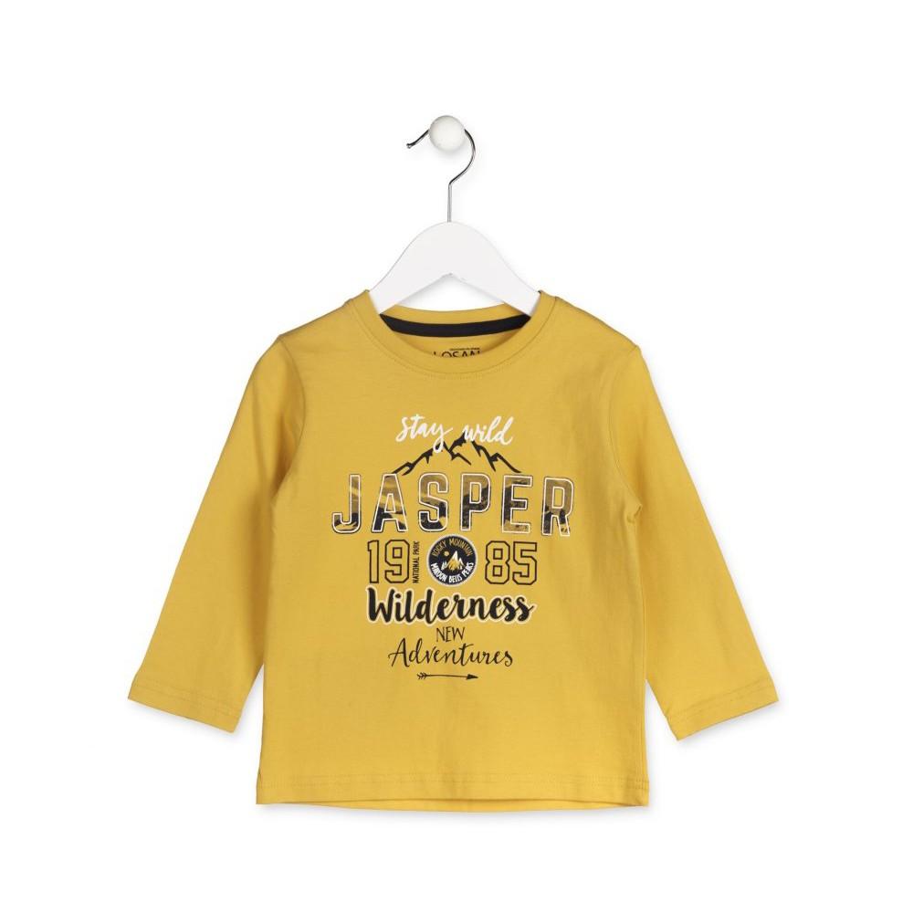 Camiseta Losan Kids niño Jasper infantil manga larga
