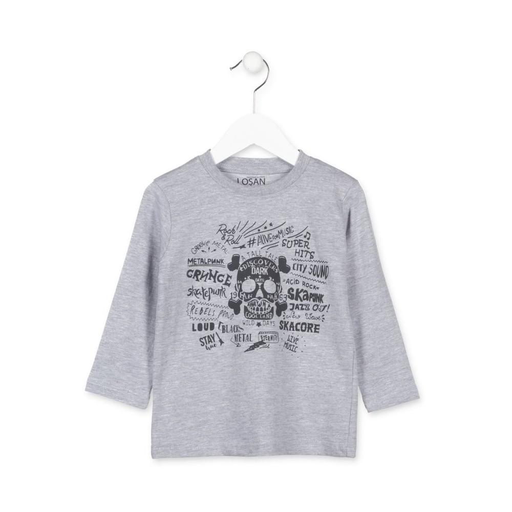 Camiseta Losan Kids niño Music infantil manga larga
