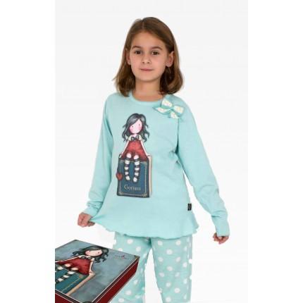 Pijama Gorjuss niña  My Story lazito Santoro manga larga