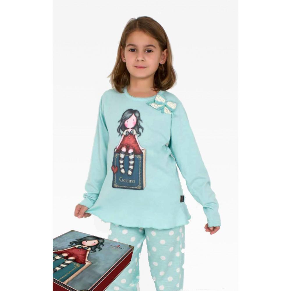 e270cecc5 Pijama Gorjuss niña My Story lazito Santoro manga larga