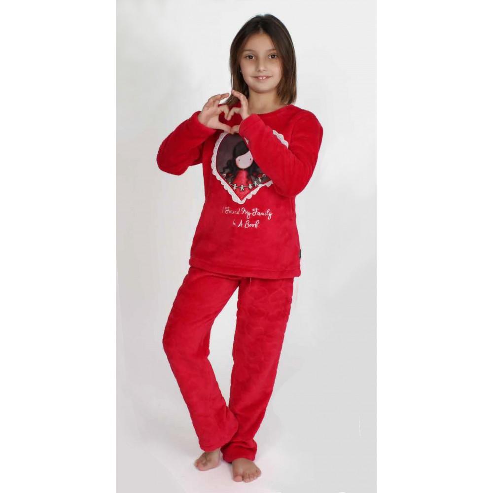 Pijama Gorjuss niña I found my family Santoro Coralina
