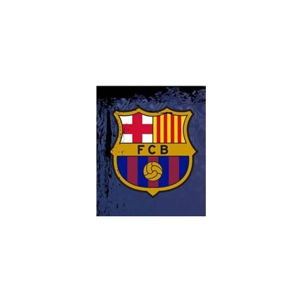 Escudo Calcetines FCBarcelona cortos Escudo niño