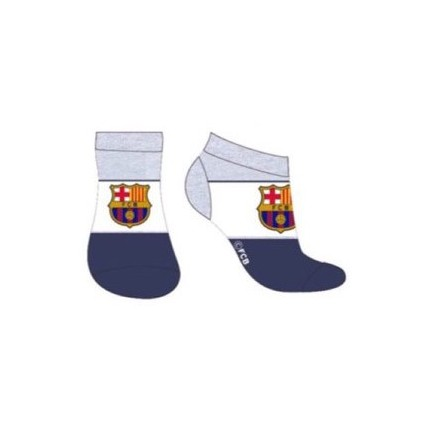 Rayas Calcetines FCBarcelona Barça cortos niño