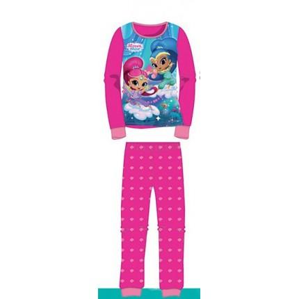 Pijama Shimmer & Shine niña infantil manga larga