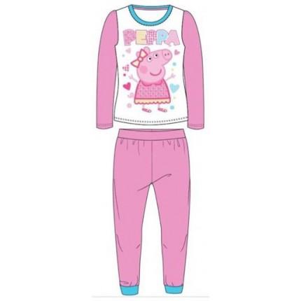Pijama Peppa Pig niña manga larga Peppa
