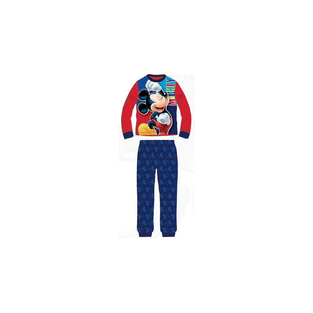 Pijama Mickey niño manga larga Rojo