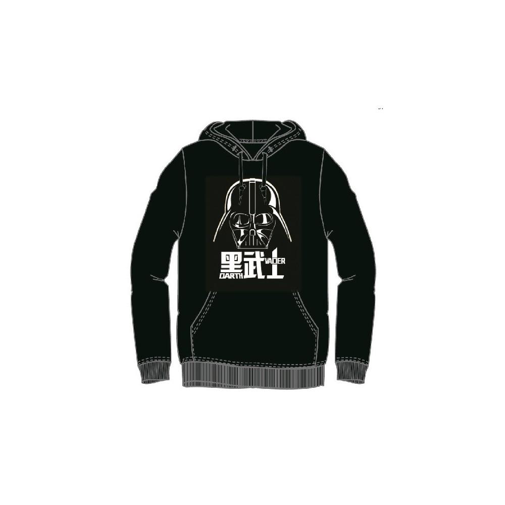 Sudadera Star Wars hombre Darth Vader canguro capucha