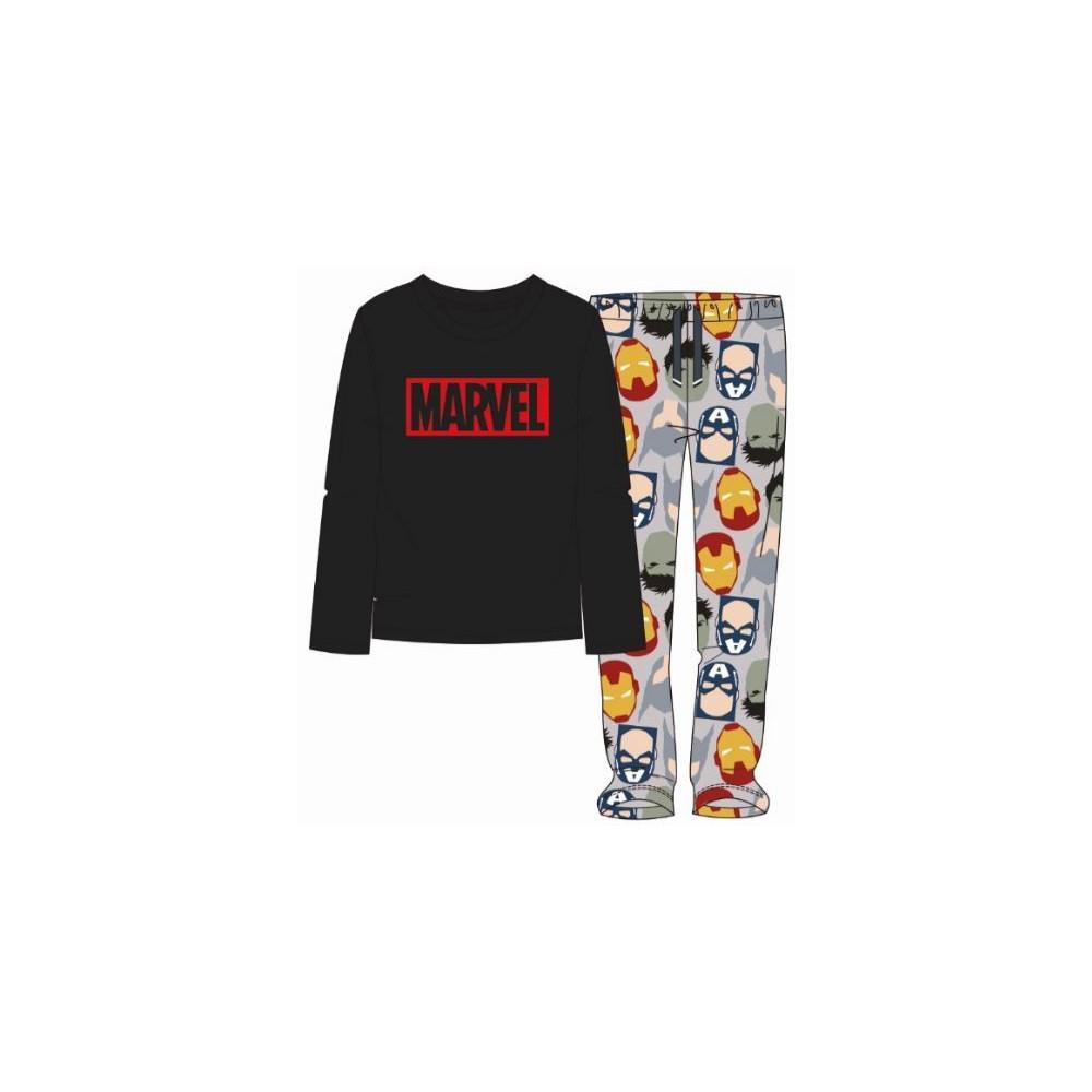50-70% de descuento selección asombrosa el precio se mantiene estable Pijama Marvel hombre manga larga
