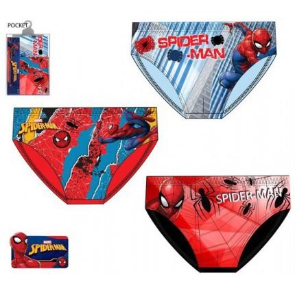 Pack de 3 Slips Spider-man niño infantil