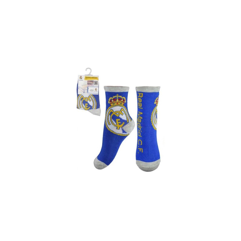 azul Calcetines Real Madrid niño  junior