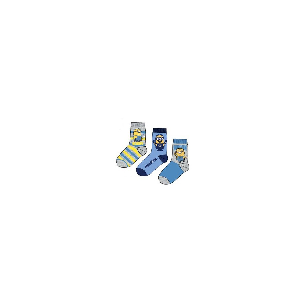 Calcetines Minios niño pack de 3