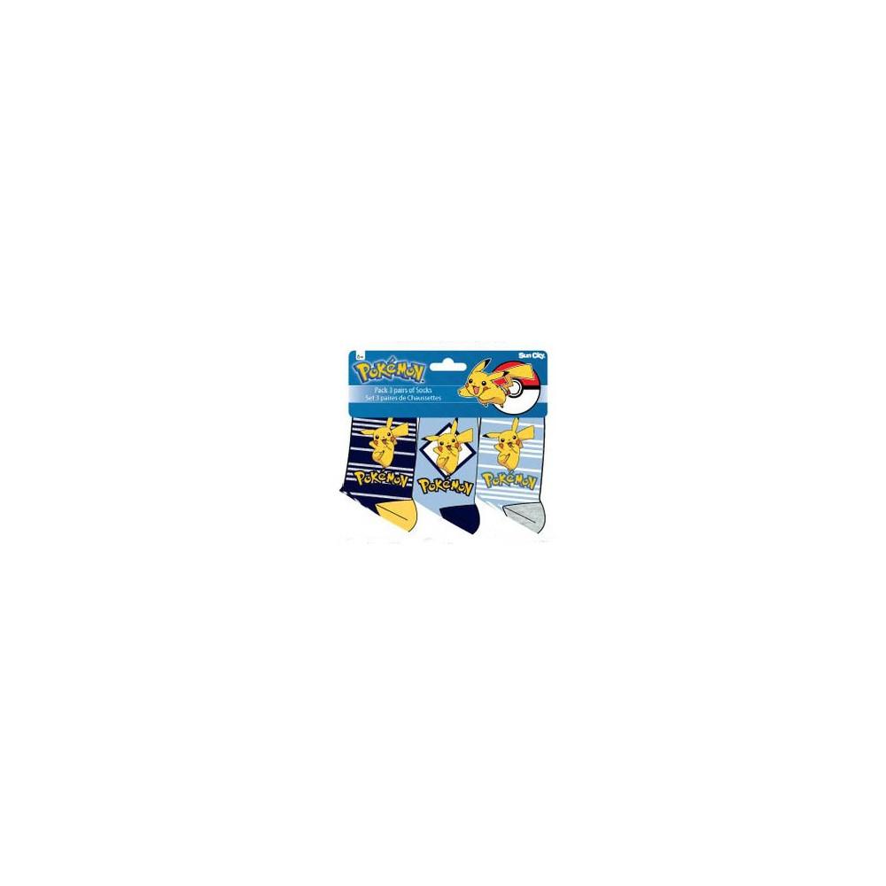 Calcetines Pokémon niño pack de 3